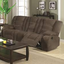 Brown Couch Living Room by Amazon Com Coaster Home Furnishings Casual Motion Sofa Brown