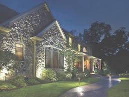 Front Yard Landscape Lighting Ideas Within Outdoor For Of House