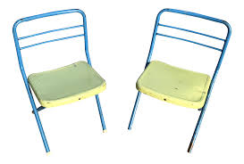 Vintage Children's Metal Folding Chairs - A Pair | Chairish Folding Chair Cap Covers Top 22 Awesome Leg Fernando Rees 8pcs Silicone Caps Feet Pads Fniture Table Floor Tips At Lowescom Protectors And Patio Cover Toddler Replacements Cheap Outdoor Plastic Find 4 Pcs Round Rubber Stackable Mandaue Foam Philippines For Free Adirondack Yand Project Rustic Chairs Kindpma 32 Pack 78 Black Faux Leather