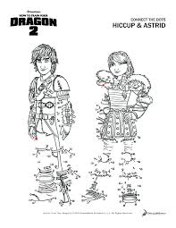 How To Train Your Dragon 2 Hiccup And Astrid Coloring Pagesfly