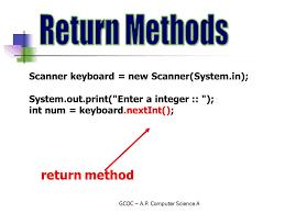 Java Mathceil Return Integer by Gcoc U2013 A P Computer Science A College Board Topics U2013 A P