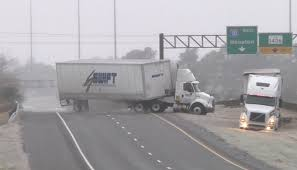100 Truck Crashes Caught On Tape HD Tractortrailer Wreck And Texas Icy Slides Caught On Camera