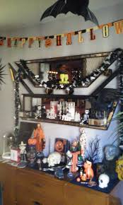 Halloween Blow Mold Display by Coffin Kitsch October 2015