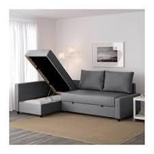 canapé lits friheten canapé lit d angle avec rangement skiftebo gris foncé