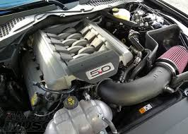 The Mustang 5 0L Engine S197 vs S550