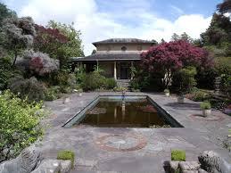 100 Backyard Tea House Free Images Lawn Villa Mansion Flower Home Walkway Pond