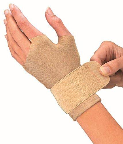 Mueller Compression Gloves - Beige, Small