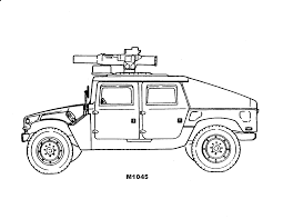 Army Coloring Pages Armored Vehicle