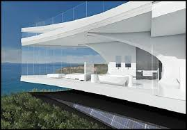 Architecture : Unique Futuristic House Design Side View Come With ... Architecture Futuristic Home Design With Arabian Nuance Awesome Decorating Adorable Houses Bungalow Cool French Interior Magazines Online Bedroom Ipirations Designs 13 White Villa In Vienna Homey Idea Unique Small Homes Unusual Large Glass Wall 100 Concepts Fascating Living Room Chic Of Nice 1682 Best Around The World Images On Pinterest Stunning Japanese Photos Ideas Best House Pictures Bang 7237