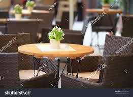 Outdoor Restaurant Open Air Cafe Chairs Stock Photo (Edit Now ... Vintage Old Fashioned Cafe Chairs With Table In Cophagen Denmark Green Bistro Plastic Restaurant Chair Fniture For Restaurants Cafes Hotels Go In Shop And Table Isometric Design Cafe Vector Image Retro View Of Pastel Chairstables And Wild 36 Round Extension Ding 2 3 Piece Set Western Fast Food Chairs Negoating Tables Balcony Outdoor Italian Seating With Round Wooden Wicker Coffee Stacking Simply Tables Lancaster Seating Mahogany Finish Wooden Ladder Back