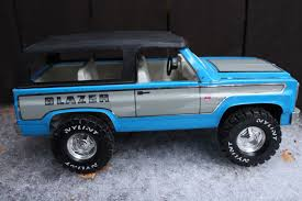 VINTAGE NYLINT CHEVY Blazer Truck Jimmy Toy Steel Metal Nice 12 ...