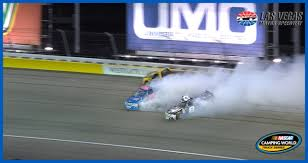 Narrow Escape For Grant Enfinger; Stewart Friesen Spins | NASCAR.com