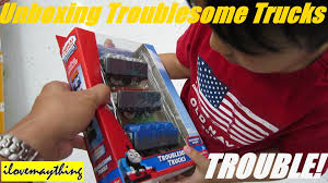 Thomas & Friends: Unboxing The Troublesome Trucks - Thomas ... Thomas And Friends Troublesome Trucks Toys Electric Train T041e Dodge Trackmaster And Fisherprice Criss Cheap Find Deals On Line At 1843013807 Bachmann Trains Truck 1 Ho Scale Similiar The Tank Engine Caboose Keywords Fun Story Rosie With 2 Troublesome Trucks And Balloon Cargo Thomas Friends Custom Lot G Makes A Mess Trackmaster Wiki Fandom T037e Dennis