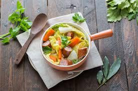 soupe paysanne au chou vert cuisine addict