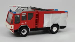 100 Model Fire Trucks Buffalo Road Imports RosenbauerSimba Airport Fire Truck Red FIRE