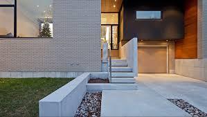 un escalier extérieur en béton comment faire le bon choix