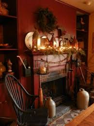 Primitive Decorating Ideas For Fireplace by 67 Best Primitive Colonial Fireplace Mantles Images On Pinterest