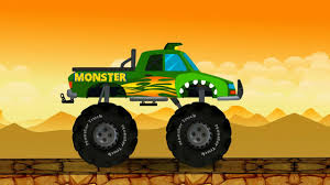 Monster Truck Destroyer Abc | Compilation For Kids | Learning Video ...