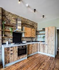 100 Warehouse Conversion London Open Plan Kitchen In Rustic Kitchen