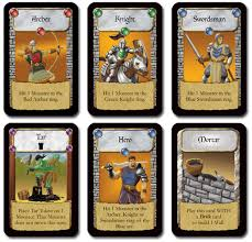 Castle Panic Game Cards