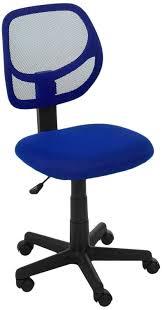 Mainstays Desk Chair Multiple Colors Blue by Amazon Com Amazonbasics Low Back Computer Chair Blue Kitchen