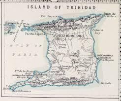 1856 Map Of Trinidad