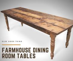 Featured Farmhouse Style Dining Room Tables