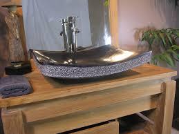 vasque de salle de bain à poser rectangle 50 cm en marbre