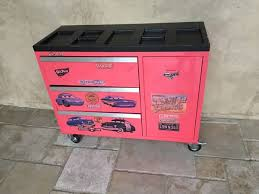 Pink Tool Box Dresser by Red Metal Disney Cars Dresser Toy Box Tool Box Baby U0026 Kids In