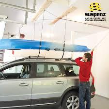 Kayak Hoist Ceiling Rack by Ceiling Hoist Suspenz