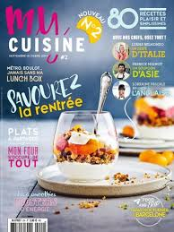 magazine de cuisine abonnement magazine my cuisine relay com