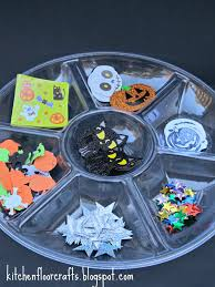 Cliffords Halloween by Kitchen Floor Crafts Halloween Sticky Collage