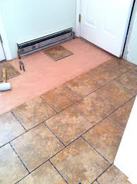 Can You Lay Ceramic Tile Over Linoleum by Can You Put Laminate Flooring Over Tile Flooring Designs