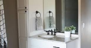 Bathroom Linen Tower Espresso by Bathroom Linen Tower With Doors Image Of Corner Storage Cabinet