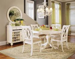 Ortanique Round Glass Dining Room Set by Antique White Kitchen Table Round Antique White Kitchen Table