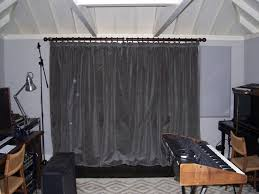 Noise Blocking Curtains Nz by Sound Blocking Curtains The Thicker And More Dense The Materials