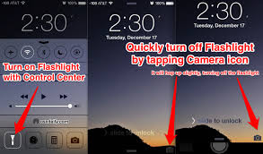 Turn f the iPhone Flashlight with a Quick Camera Tap