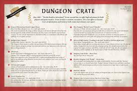 Dungeon Crates Special Adventure Vault Square Box Design