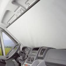 rideaux et volets extérieurs pour cing car store de pare brise