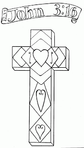 Spring Flowers On A Cross Easter Christian Themed Coloring Page High Quality Pages Butterfly Medium