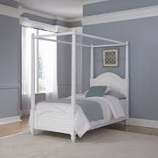 Twin Metal Canopy Bed Pewter With Curtains by Twin Canopy Bed Interiors Design