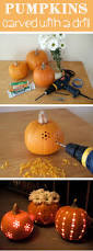 Preserving A Carved Pumpkin by Pumpkin Carving With A Drill