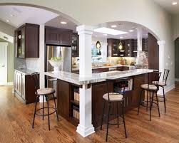 Galley Kitchen Remodel Remove Wall Fair Removing A Load Bearing Design Pictures Decor And