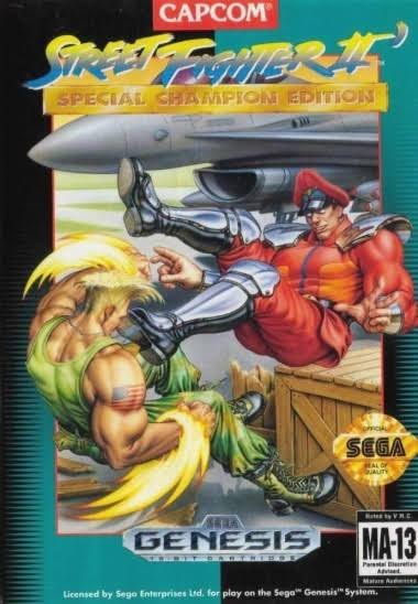 Street Fighter II : Special Champion Edition - Sega Genesis