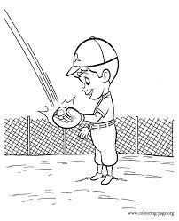 Young Goob Catches The Ball Coloring Pages