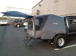 Tested My Cheap Truck Tent Today | Pinterest | Tents, Cheap Trucks ... Take Camping To The Next Level With At Overlands Tacoma Habitat 19952003 1st Gen Toyota Tacoma Midlevel Rugged Bed Rack Rago Dac Tailgate Tent World Sportz Truck Tent Napier Outdoors Pickup Topper Becomes Livable Ptop Habitat Ranger Overland Rooftop Annex Room Best Off Road Camping Roof Top Tents Page 2 Pinterest Top Guide Gear Compact 175422 At Sportsmans
