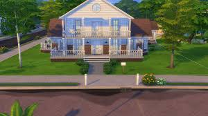 100 Crescent House Mod The Sims Tranquil Luxury Home No CC