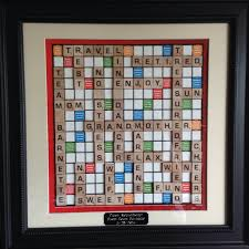 Printable Individual Scrabble Tiles by Retirement Scrabble Board Artwork I Made For A Coworker 16x16