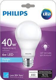 led bulb 046677455781 philips