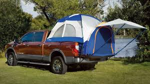 2018 Titan Pickup Truck Accessories | Nissan USA 57066 Sportz Truck Tent 5 Ft Bed Above Ground Tents Skyrise Rooftop Yakima Midsize Dac Full Size Tent Ruggized Series Kukenam 3 Tepui Tents Roof Top For Cars This Would Be Great Rainy Nights And Sleeping In The Back Of Amazoncom Tailgate Accsories Automotive Turn Your Into A And More With Topperezlift System Avalanche Iii Sports Outdoors 8 2018 Video Review Pitch The Backroadz In Pickup Thrillist